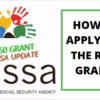 How To Apply For SASSA R350 Grant In February 2021