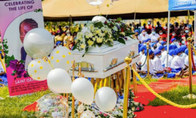 Israella Bushiri Funeral: Photos From Prophet Shepherd Bushiri Daughter Burial As Family Bit Farewell