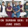 Durban Gen Teasers June 2021