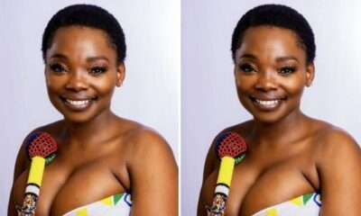Nosipho From Uzalo's Beautiful Pictures Looking Stunning With Her Natural Beauty