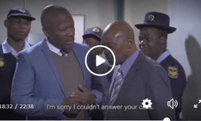 Skeem Saam episode that was supposed to play yesterday: Meiki escaped from prison